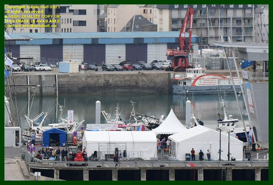 marquee chausiaise port de Granville harbour Manche Normandy France Eric Hall photo September 2021