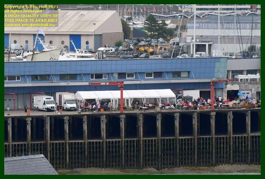 buffet fete des coquilles st jacques port de Granville harbour Manche Normandy France Eric Hall photo September 2021