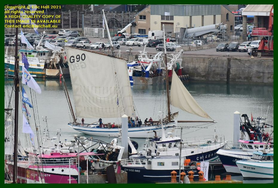 la granvillaise coelacanthe suzanga port de Granville harbour Manche Normandy France Eric Hall photo September 2021