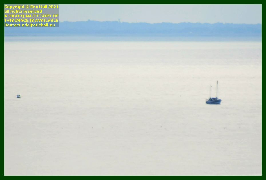 yacht small boat baie de mont st michel Granville Manche Normandy France Eric Hall photo September 2021