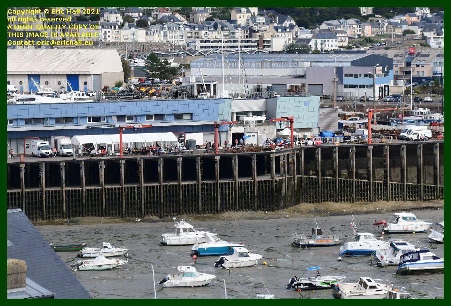 buvette fête des coqilles st jacques port de Granville harbour Manche Normandy France Eric Hall photo September 2021
