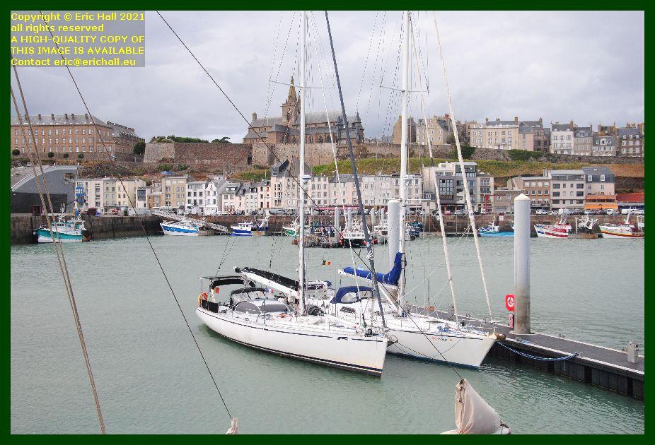 capo di fora spirit of conrad port de Granville harbour Manche Normandy France Eric Hall photo September 2021