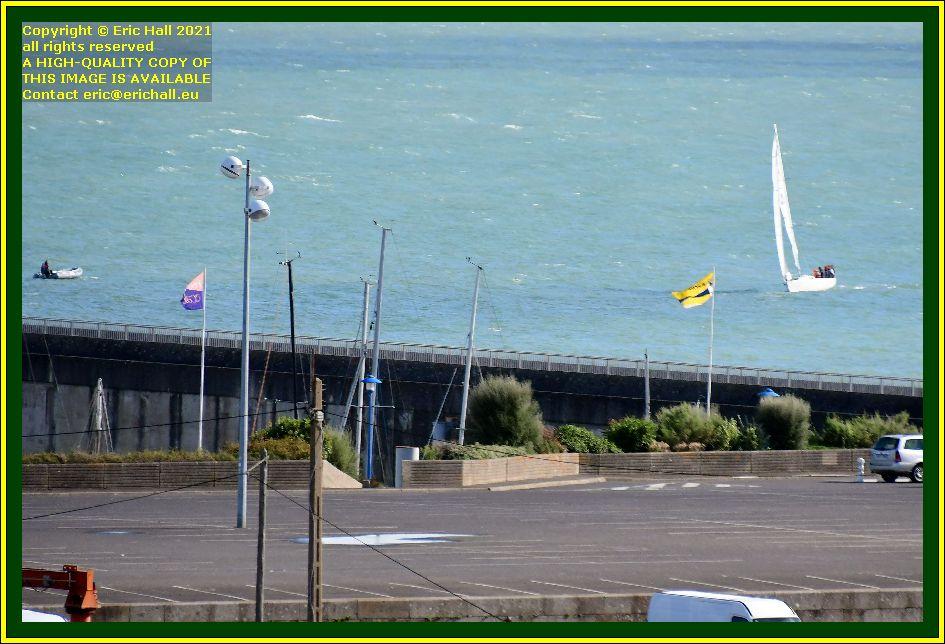 yacht zodiac baie de mont st michel Granville Manche Normandy France Eric Hall photo September 2021
