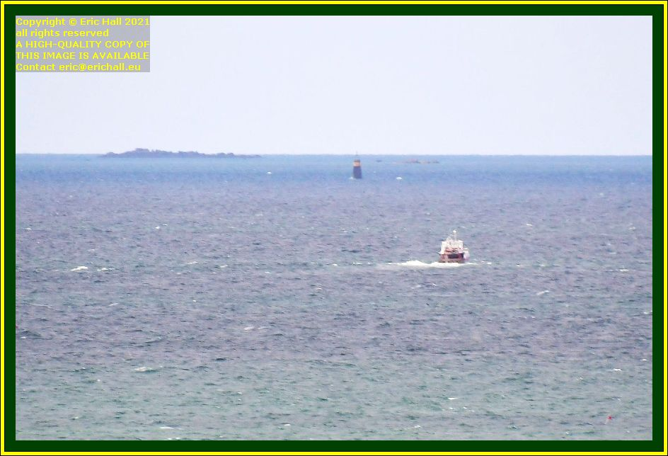 ile de chausey trawler baie de Granville Manche Normandy France Eric Hall photo September 2021