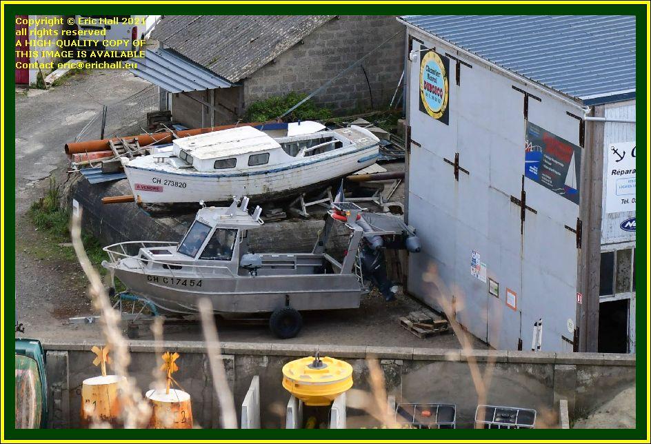 chantier naval port de Granville harbour Manche Normandy France Eric Hall photo September 2021
