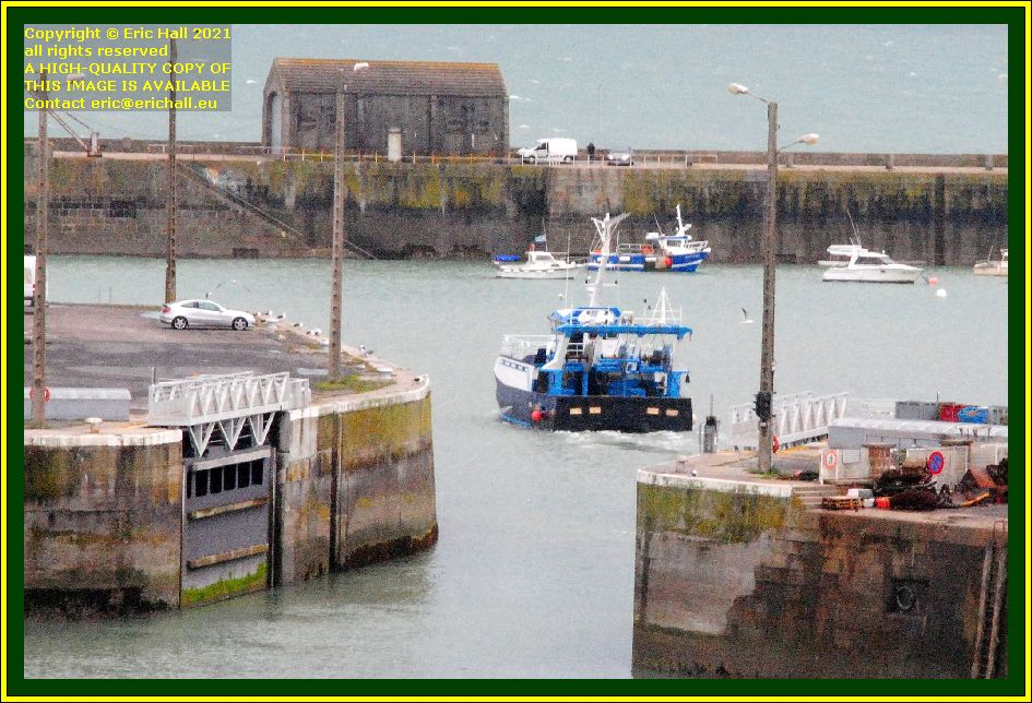 trawler port de Granville harbour Manche Normandy France Eric Hall photo October 2021