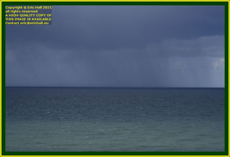 storm brewing over jersey baie de Granville Manche Normandy France Eric Hall photo October 2021