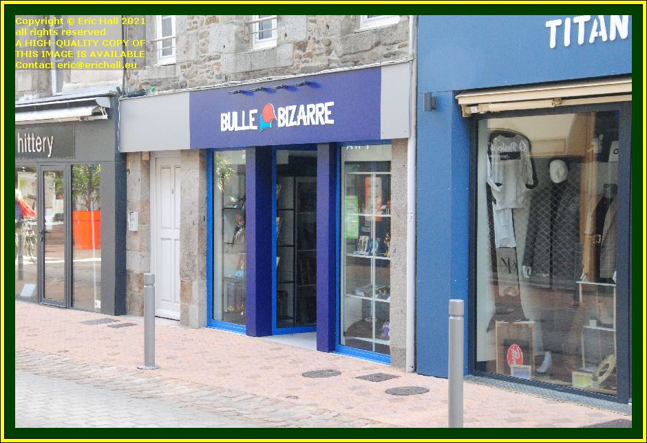 new shop opened rue couraye Granville Manche Normandy France Eric Hall photo October 2021