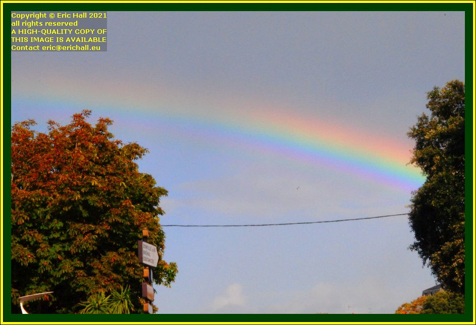 rainbow place semard Granville Manche Normandy France Eric Hall photo October 2021