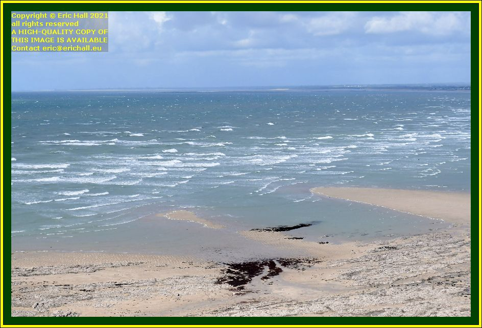 waves baie de Granville Manche Normandy France Eric Hall photo October 2021