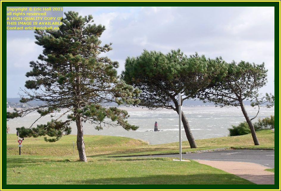 le loup waves baie de mont st michel granville Manche Normandy France Eric Hall photo October 2021