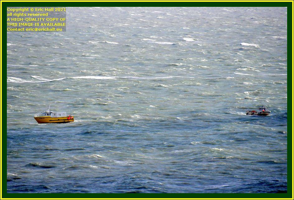cherie d'amour fishing boat baie de mont st michel Granville Manche Normandy France Eric Hall photo October 2021