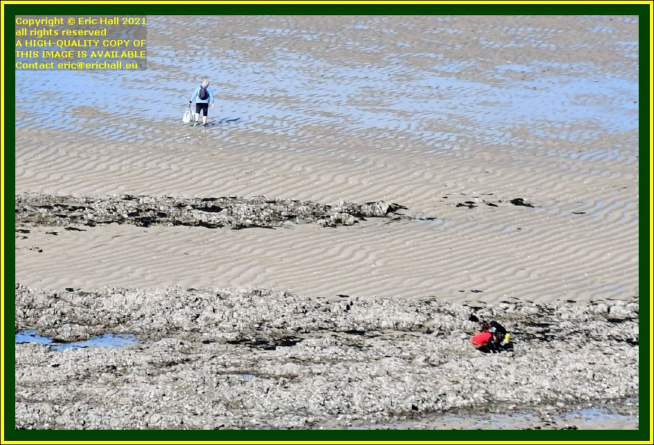 peche a pied beach rue du nord Granville Manche Normandy France Eric Hall photo October 2021