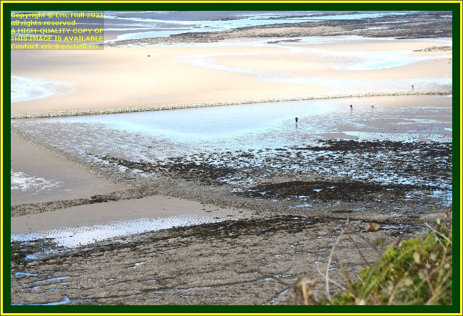 peche a pied medieval fish trap plat gousset Granville Manche Normandy France Eric Hall photo October 2021