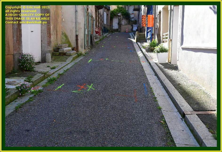 rue st michel Granville Manche Normandy France Eric Hall photo October 2021