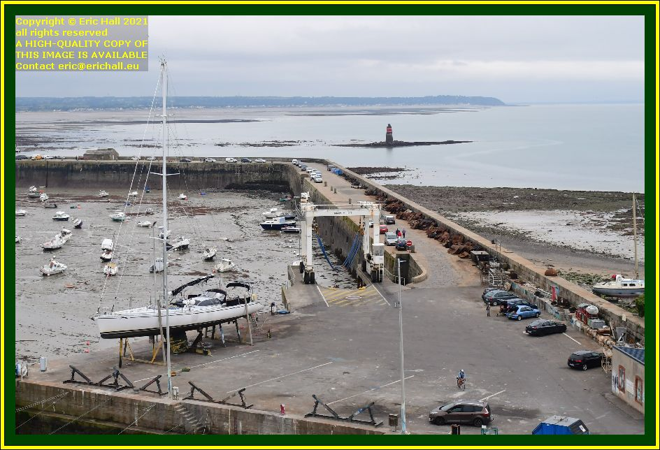 yacht chantier naval port de Granville harbour Manche Normandy France Eric Hall photo October 2021