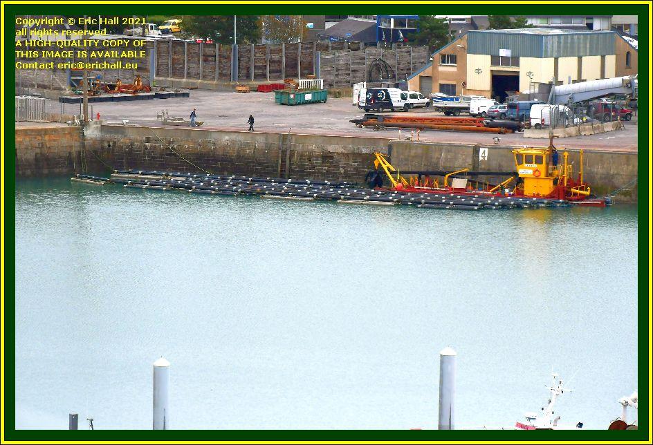 dredger St-Gilles Croix-de Vie port de Granville harbour Manche Normandy France Eric Hall photo October 2021