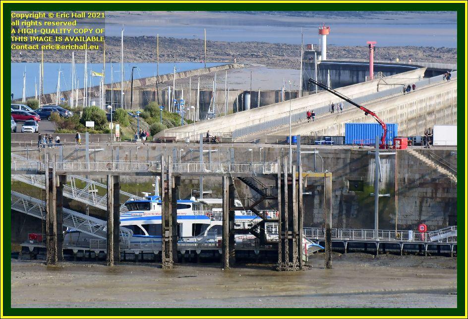 belle france ferry terminal port de Granville harbour Manche Normandy France Eric Hall photo October 2021