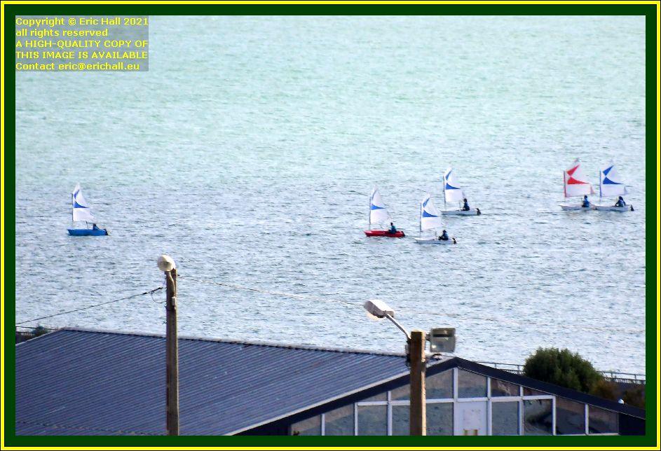 sailing school baie de mont st michel Granville Manche Normandy France Eric Hall photo October 2021