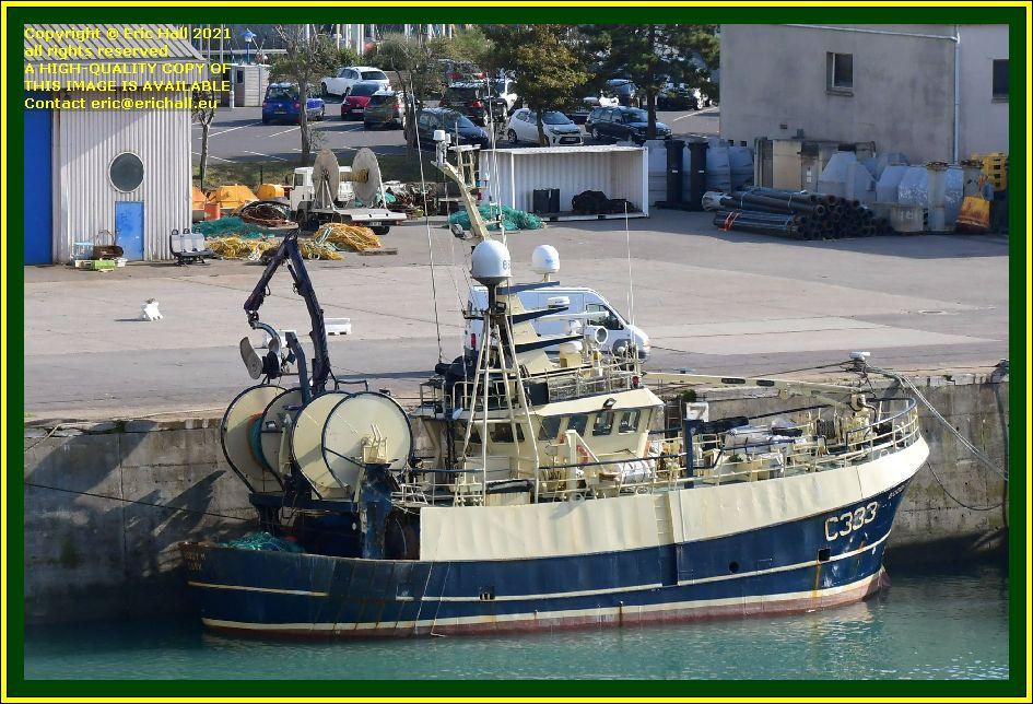 buddy m port de Granville harbour Manche Normandy France Eric Hall photo October 2021