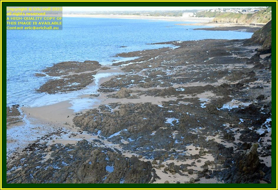 beach rue du nord Granville Manche Normandy France Eric Hall photo October 2021
