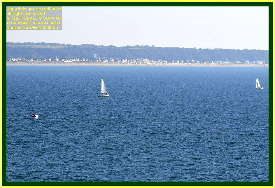 boats baie de mont st michel Granville Manche Normandy France Eric Hall photo October 2021