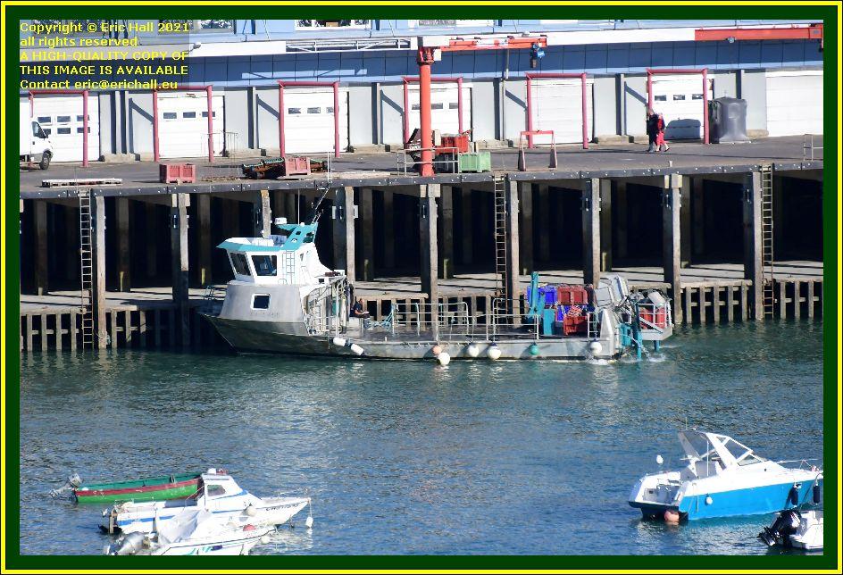 la grande ancre port de Granville harbour Manche Normandy France Eric Hall photo October 2021